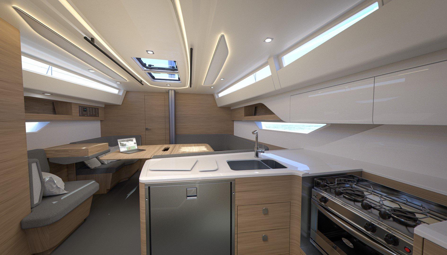 Elan E6 interior