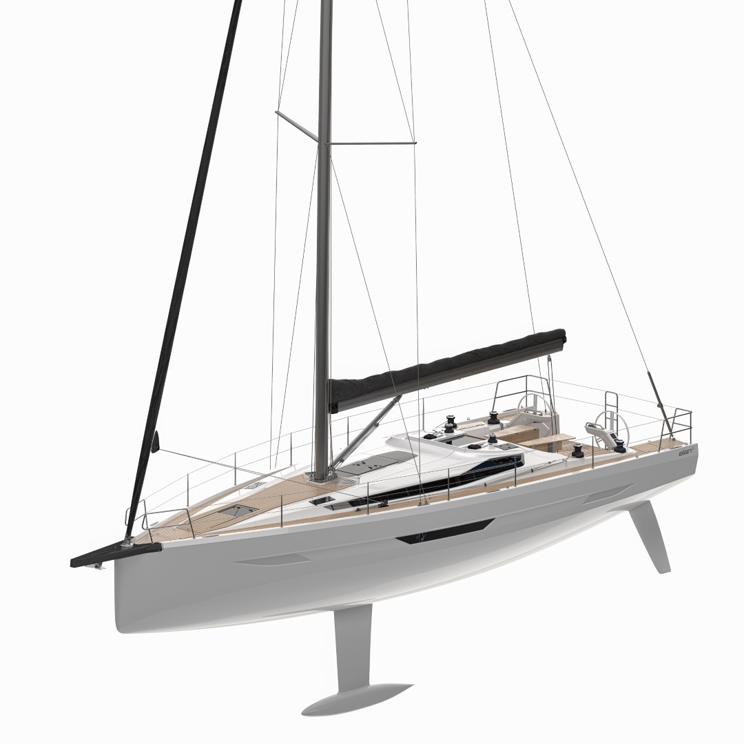 Elan E6 technical render performance cruiser