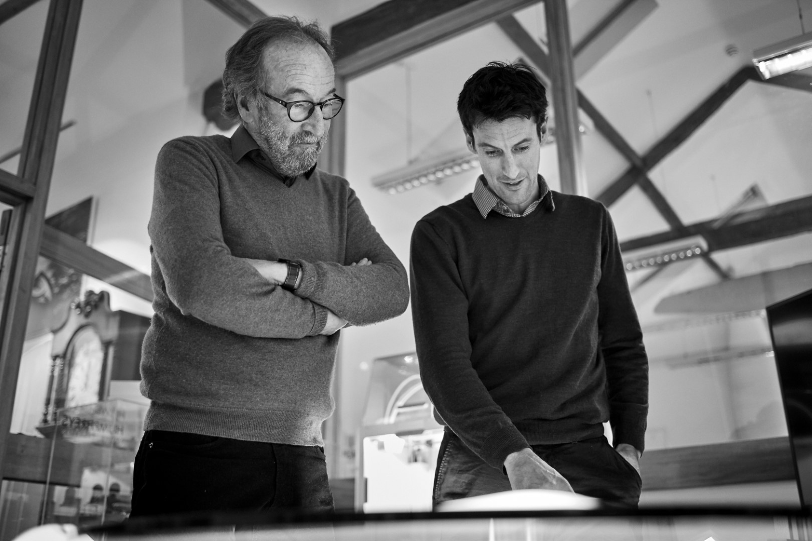 Rob Humphreys, and Tom Humphreys, Director (left to right), Humphreys Yacht Design