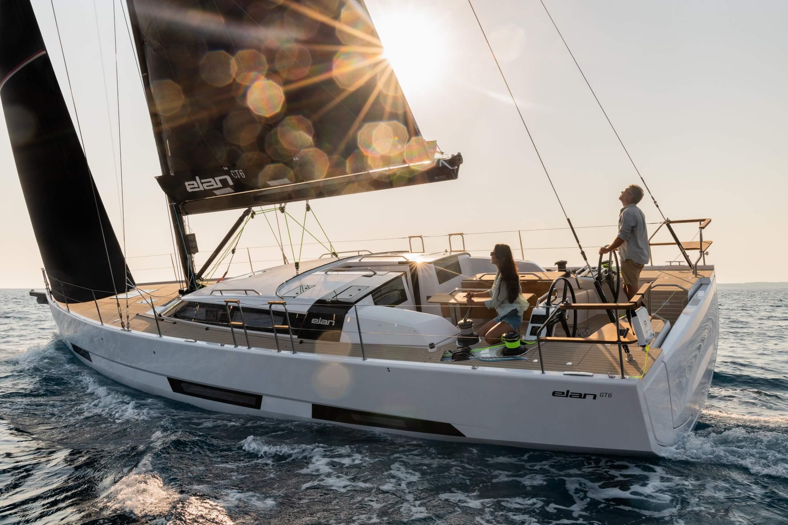 ELAN GT6 sailing yacht
